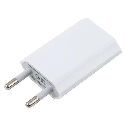 Enchufe cargador USB-Cargador de pared, color blanco ...