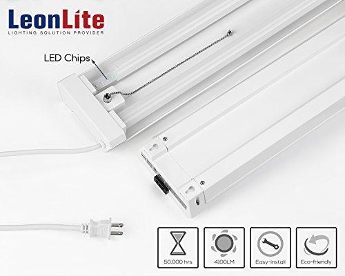 4ft 40w Linkable Led Utility Shop Light 4100 Lumens Etl