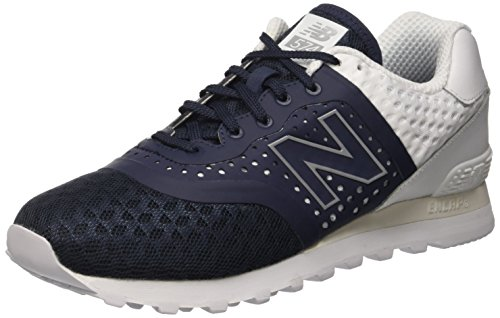 New Balance Hombres Ml574 Acrylic Pack Classic Sneaker Blue