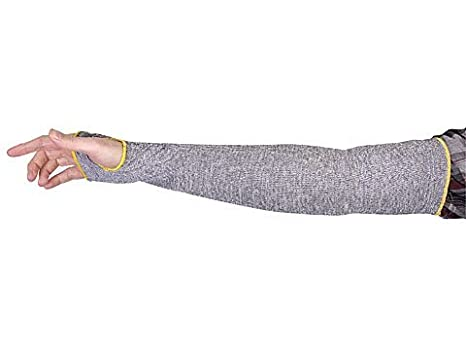 Extra Large, With Thumbhole KTAG1T18T TenActivTM Grey Stay-Cool Cut-Resistant Sleeve 18 Length