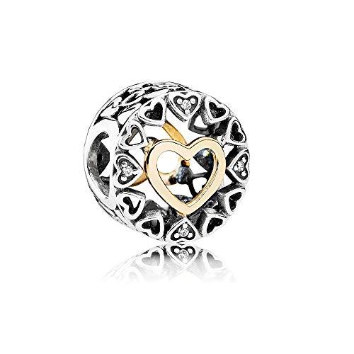 Pandora Loving Circle Charm 792009CZ