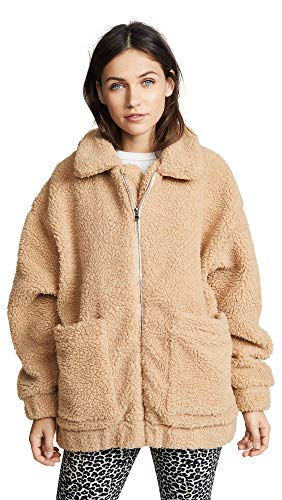 I.AM.GIA Women's Pixie Coat, Caramel, Tan, Large