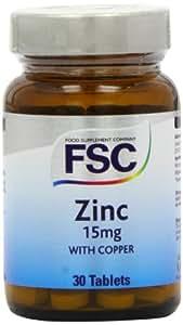 FSC Zinc 15mg with Copper 30 tablet