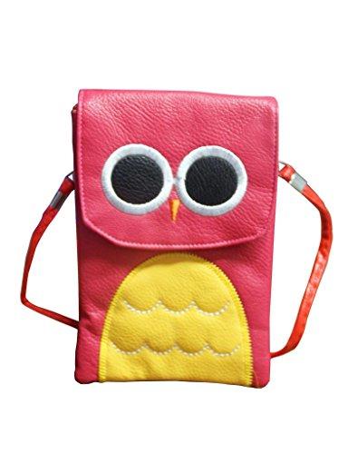 Jessidress Tasche Mädchen Handtasche Kindergartentasche Schultertasche Handtasche Fushia