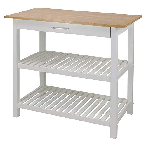 Kitchen Stools Lakeland: Casual Home Kitchen Island With Solid