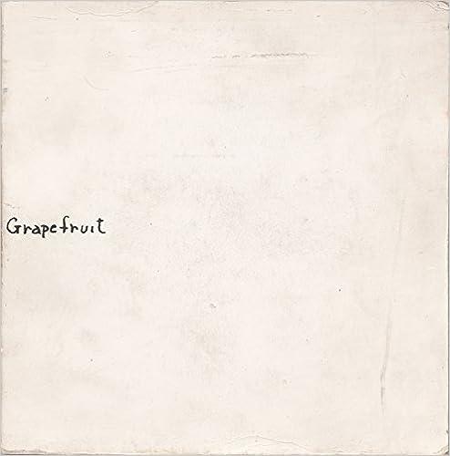 Amazon Com Yoko Ono Grapefruit 9780870709784 Ono Yoko Books