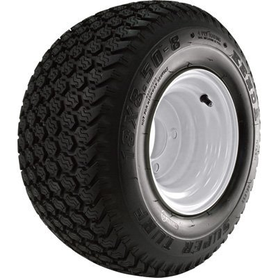 Golf Cart and Tractor Replacement Tire Assembly - 18 x ()