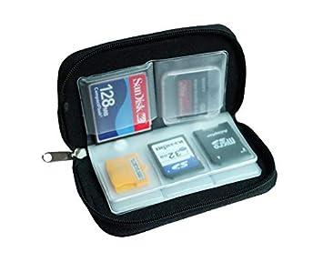 Amazon.com: BANDC 22 ranuras CF SD XD MS caja de tarjeta de ...