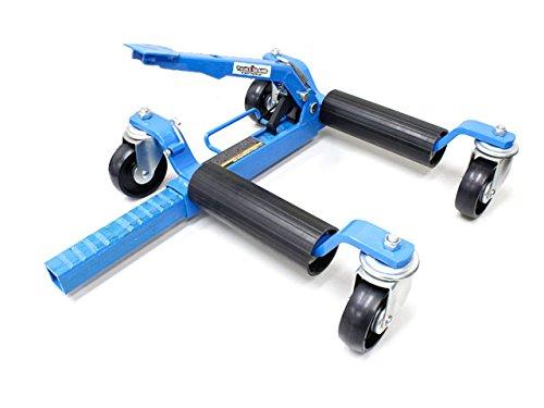 toolsisland (ツールズアイランド) ホイールドーリー ゴー ジャッキ カードーリー 機械式 THM024 THM024 B00O9R15FO 1台単品 ブルー