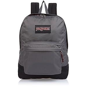 JanSport SuperBreak Backpack (Forge Grey - Black Label)