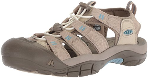 KEEN Plaza Newport Sandal H2 Taupe Blue Provincial Women's 7w4O7qA