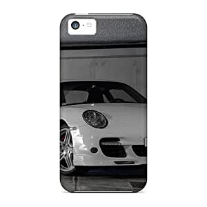 Defender Case With Nice Appearance (white Gt3) For Iphone 5c