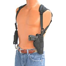 """This vertical shoulder holster fits all Autommatics with 3.5"""" to 4.5"""" barrels Beretta,Bersa,Browning,CZ,Charles Daly,Colt,,Glock,H&K,Kimber,Korth,Ruger,Sig Sauer,Smith & Wesson,SpringField,Star,Taurus"""