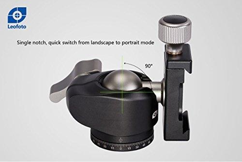 LEOFOTO LH-25 25mm Low Profile Ball Head Arca / RRS Compatible by LEOFOTO