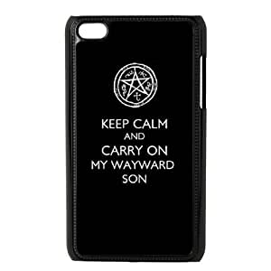 DIY Protective Snap-on Hard Back Case Cover for iPod Touch 4 with Supernatural