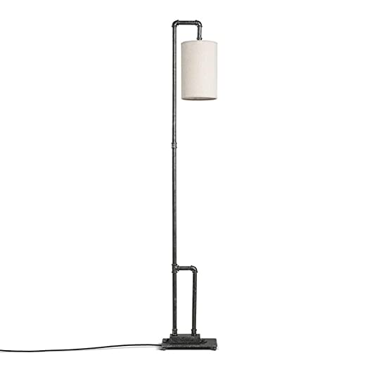 Retro Style Metal Floor Lamp For Living Room Bedroom And ...