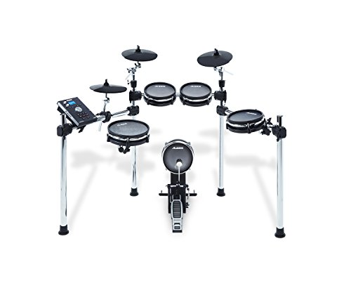 Alesis Command Mesh Kit | Eight-Piece Electronic Drum Kit with Mesh Heads