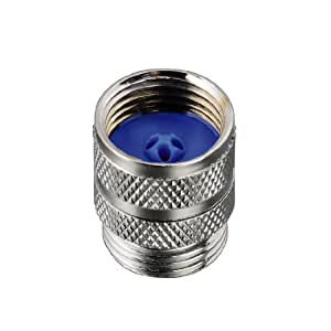 Xavax 00111845 - Empalme con rosca para manguera de la ducha (1,2'', 1,3 cm), latón cromado