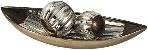Buy Ok Lighting Dubai Tiles Decorative Bowl With Spheres Online At Low Prices In India Amazon In
