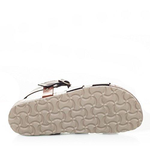 Maria Barcelo Damen Sandalen mit Schnallenverschluss