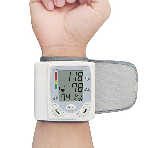 Vangold Wrist Blood Pressure Monitor With Portable Case Bp Monitor For Health Care 2 Years Warranty  Battery Operated  Ck 101S