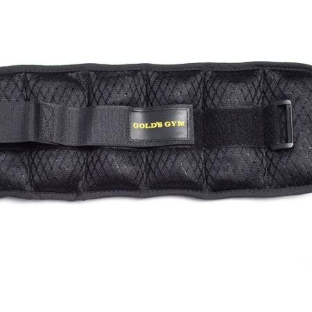 Gold's Gym Adjustable Wrist/Ankle Weights, 5 lb