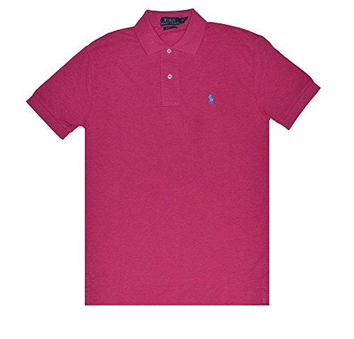 Polo Ralph Lauren Mens Classic-Fit Mesh Short sleeve Polo (Vibrant
