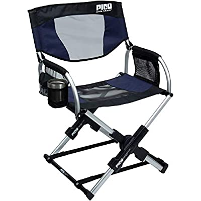 GCI Outdoor Pico Compact Folding Camp Chair with Carry Bag, Indigo Blue : Sports & Outdoors