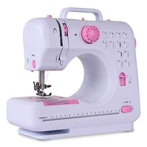 Free-Arm Crafting Mending Sewing Machine with 12 Built-in Stitched New Perfect Beautiful Classic Elegant Useful CHOOSEandBUY