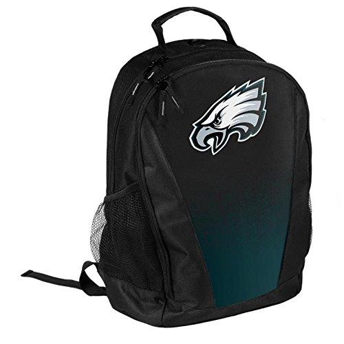 FOCO NFL Philadelphia Eagles Logo Gradient Print Primetime Deluxe Backpack, Team Color, Standard by FOCO