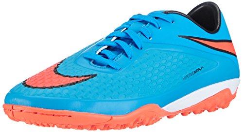Nike Hypervenom Phade TF - Zapatillas de fútbol para hombre Azul (clrwtr/ttl crmsn-bl lgn-blk 484)