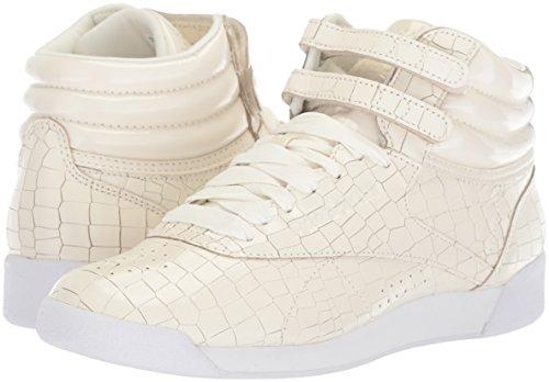 Reebok Zapatos Cordon white Béisbol Para Crackle High Tops Chalk Mujeres Talla rwarxpB7