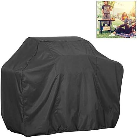 QUAN Storage Bag ストレージボックス収納袋屋外アンチUV防水防塵210Dオックスフォード布バーベキュー広場保護袋木炭バーベキューグリルカバー、サイズ:190x70x117cm(ブラック) (色 : Black)
