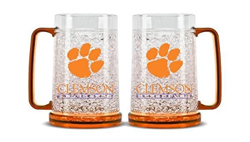 Clemson Tigers Crystal Freezer Mug