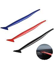 CZF ES 3 Stuks Flexibele Micro Squeegee, Voertuig Vinyl Application Tool Kit, Voertuig Wrapping Sticker Tint Film, Voor het installeren van Auto Wraps En Auto Stickers