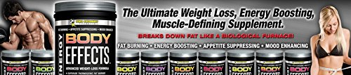 Body Effects - New Flavor - Power Performance Products Body Effects Pre Workout Supplement - the Ultimate Weight Loss, Fat Burning, Energy Boosting, Appetite Suppressing, Mood Enhancing and Muscle-Defining Supplement - Pomegranate Raspberry 570 grams (1lb