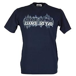 Stone Island Junior Boy`s T-Shirt – 681621058 -Navy