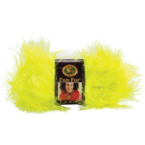 Lion Brand Yarn 320-159 Fun Fur, Neon (Fur Album)