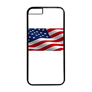 Fantastic Faye PC Material High Quality Hot Selling Stylish America Flag The Statue Of Liberty Flying Eagle Cell Phone Cases Design For iPhone 6 Color Black Hard Back Cases No.13