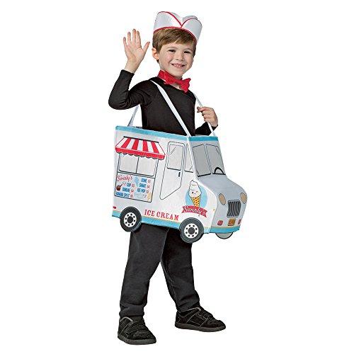 Rasta Imposta Swirly'S Ice Cream Truck Child Costume 4-6X (Ice Cream Fancy Dress Costume)