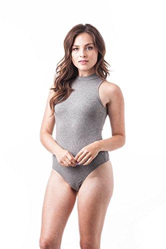 Khanomak - Body - para mujer gris