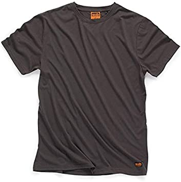 Line*** Scruffs Worker T Shirt Short Sleeve in Graphite Grey Sizes Small XXL