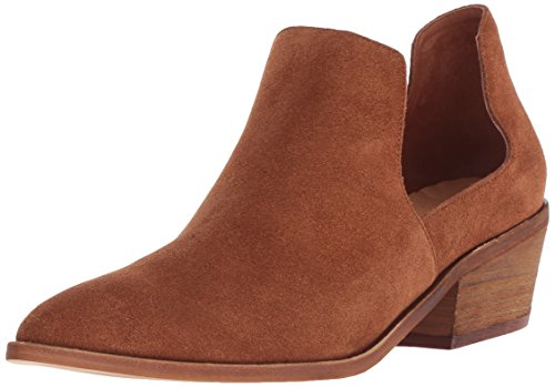Chinese Laundry Women's Focus Ankle Boot, Rust Suede, 6.5 M US