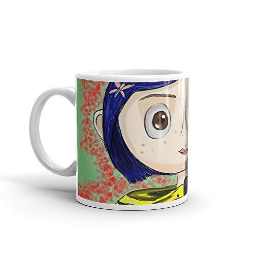Coraline Collection 11 Oz White Ceramic ()