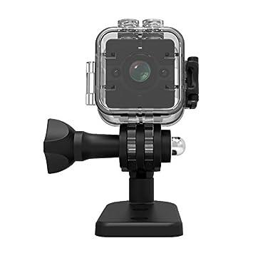 TOOGOO SQ12 Mini Camara Videocamara HD DV Deportiva Camara de vigilancia ocultada pequena del Angulo Amplio