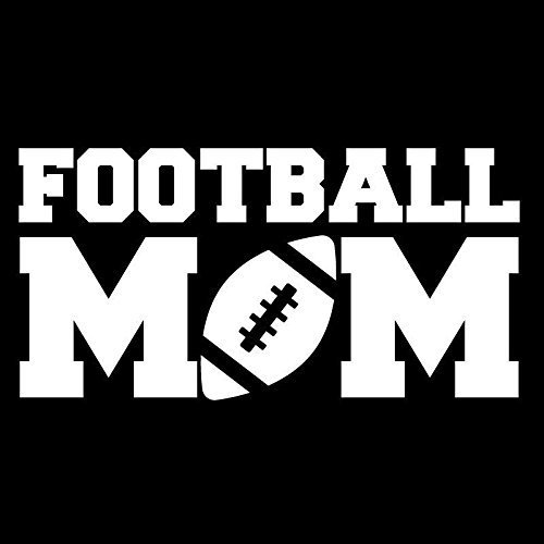 Football Mom Sports Vinyl Decal - Laptop, Car, Window, Truck, Automotive