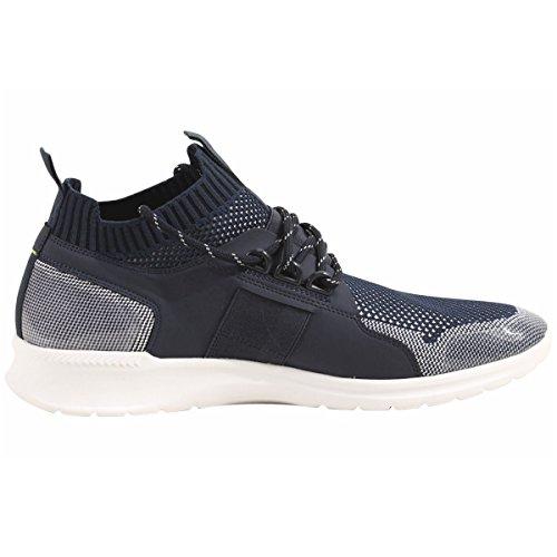 Hugo Boss Mens Sneakers Da Corsa Estreme Scarpe Blu Scuro