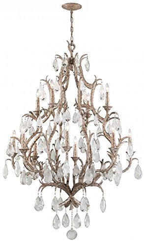 - Corbett 28573822 Corbett Twelve Light Vienna Bronze Up Chandelier - 782042796584