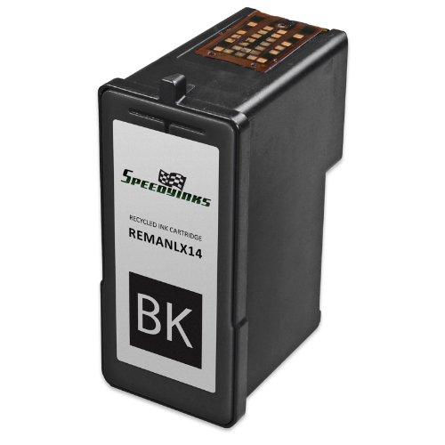Speedy Inks - Remanufactured Lexmark #14 / 18C2090 Black Ink Cartridge