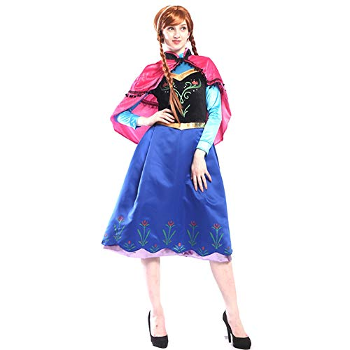 Cosplay Performance Costume Princess Skirt Suit Halloween Costume for Women Plus Size XXL (Size : XXL) ()